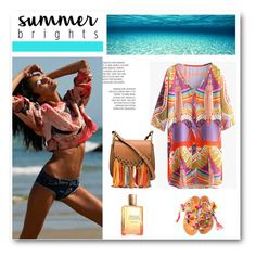 """""""Summer Brights"""" by dezaval ❤ liked on Polyvore featuring Estée Lauder, Chloé and summerbrights"""
