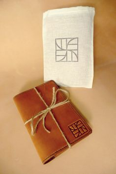 """Leather Field Notes Cover - Moleskine - Rhodia - 3.5"""" x 5.5"""" Notebook - Case - Handmade with Texas Pride - Made in USA"""