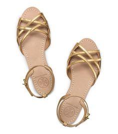 candice flat sandal / tory burch