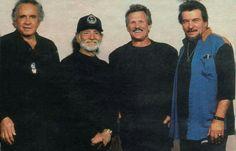 The Highwaymen, Johnny Cash, Willie Nelson< Kris Kristofferson, Waylon Jennings
