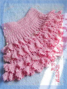 Pink Skirt free crochet graph pattern