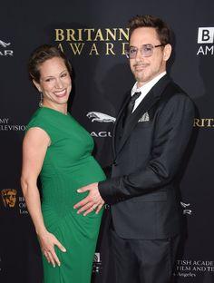 Pin for Later: Wir hatten gestern Abend mal wieder nur Augen für Emma Watson Susan Downey und Robert Downey Jr.