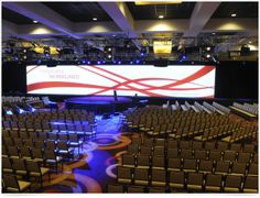 G/S LED Screen Creates a WOW | Meetings Imagined