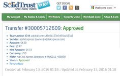 AdClickXpress Withdrawal Proof no 3b ! I am getting paid daily at ACX and here is proof of my latest withdrawal. This is not a scam and I love making money online with Ad Click Xpress. Here is my Withdrawal Proof from AdClickXpress. I get paid daily and I can withdraw daily