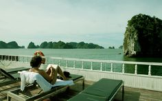 Golden Lotus Classic Cruise - relax on the sundeck