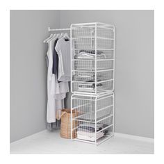 ALGOT Frame/wire baskets/rod IKEA The parts in the ALGOT series can be combined in many different ways and easily adapted to your needs and space.