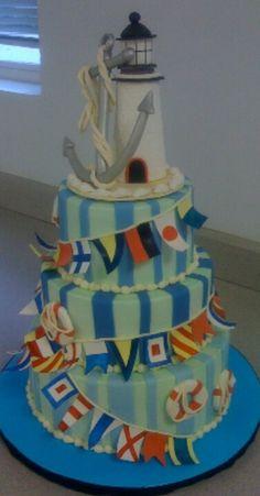 Beach cake! #LoveShackVacations