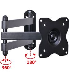 Swivel tilt wall mount compatible with small size LED LCD TV or monitor. Fits TV Monitor Size: to LED LCD TV or monitor. Tilt: If they are one or then the mount will work perfect for your TV or monitor. Best Tv Wall Mount, Tv Wall Mount Bracket, Wall Mounted Tv, Swivel Tv Wall Mount, Swivel Tv Stand, Support Tv, Tv Led, Arm Computer, Rack Tv