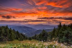 snowshoe mountain sunrise pictures | West Virginia: The Mountain State on Pinterest | Sunrises, US states ...