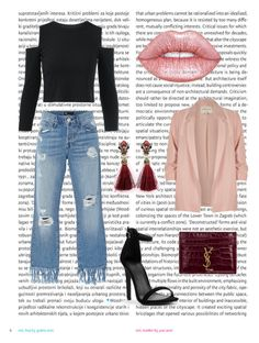 """YSL"" by paulina-932-7 on Polyvore featuring moda, Oris, 3x1, Yves Saint Laurent, Lime Crime y River Island"