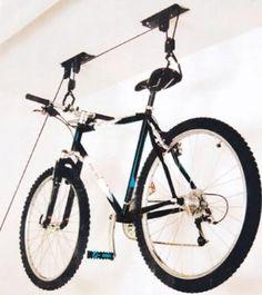 Ideas para colgar la bici del techo de forma barata - ForoCoches