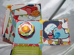 Adorable box from Sweet Tooth Boxes.  Inside view.