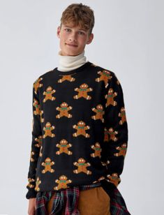 Holiday Sweaters, Christmas Fashion, Pulls, Turtle Neck, Style, Xmas, Christmas Clothes, Men Styles, Haute Couture