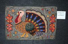 Thanksgiving Turkey Rug Hooking