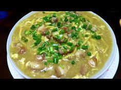 Super Easy Lomi Batangas - MichelleCookingDiary - YouTube Filipino Recipes, Filipino Food, Batangas, Pinoy Food, Cheeseburger Chowder, Stew, Soup Recipes, Super Easy, Meals