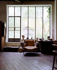 Henry Varnum Poor's Atelier. by Leslie Williamson