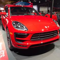 The Macan GTS waiting for you in Porsche Hall through December 10 #LAAutoShow