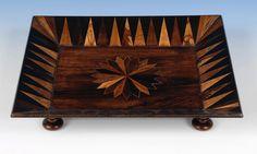 Tunbridge Ware tray. Circa 1840 http://www.edenbridgegalleries.com/antiques/d/tunbridge-ware-tray/126110