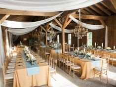 Barn Wedding with Chandelier | photography by http://virgilbunao.com/ http://www.acharlestonbride.com