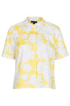 Summer Floral Boxy Shirt