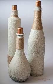 Resultado de imagem para pintura em garrafa de vidro