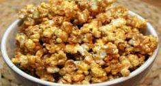 Peanut Butter and Honey Popcorn Recipe