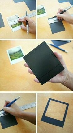 Magnetic Polaroid DIY