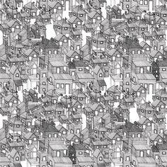 houses #art #illustration