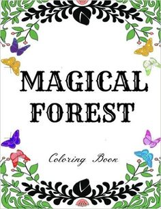 Amazon Magical Forest Creative Therapy Adult Coloring Book Enchanted