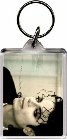 Michael Jackson - Plastic Key Ring. Size (Approx): 3 x 2 inches (8 x 5 cm). FREE POSTAGE