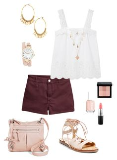 """Untitled #405"" by kmysoccer on Polyvore featuring MANGO, Essie, Stella & Dot, Steve Madden, Charlotte Russe, Cesca, Bobbi Brown Cosmetics and MAC Cosmetics"