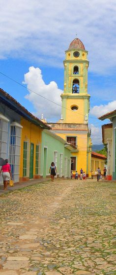 Street in Trinidad, Cuba: http://bbqboy.net/photo-documentary-and-travel-tips-on-the-beautiful-town-of-trinidad-cuba/