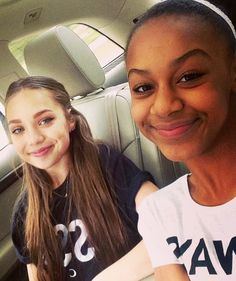 Maddie and Nia