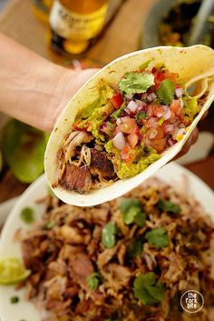 Pork Crock Pot Carnitas Recipe - Slow Cooker Carnitas