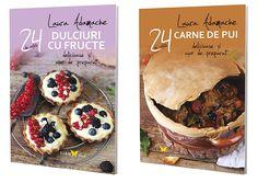 Carti 24 de retete delicioase si usor de preparat Camembert Cheese, Muffin, Dairy, Breakfast, Books, Morning Coffee, Libros, Muffins, Book