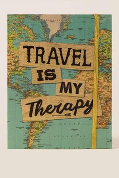 Travel is My Therapy Journal