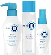 We all know It's a 10 products are miracles! Try the new volume line which will moisturize without weighing your hair down