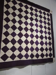 The Fleming's Nine: Two Color Quilt - Purple | Quilts | Pinterest ... : two color quilts patterns - Adamdwight.com