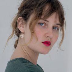 POLLI / Rose Gold Rosa Earrings