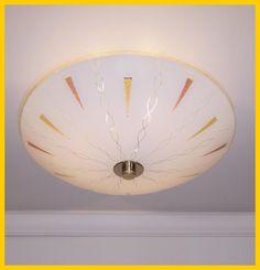 BEST ATOMIC DESIGN RETRO VINTAGE MCM MID CENTURY MODERN CEILING LIGHT FIXTURE