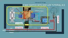 (12) IOT DIY Home Automation with Alexa| Control Multiple Devices | ESP8266 ESP-12E | Tutorial # 4 - YouTube