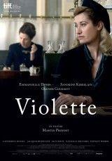 CINE(EDU(-873. Violette. Dir. Martin Provost. Drama. Francia, 2013. Violette Leduc coñece a Simone de Beauvoir tras a posguerra en Saint Germain deas Prés, comezando así unha relación intensa entre estas dúas mulleres que vai durar toda a súa vida, relación baseada na procura de liberdade de Violette e a convicción de Simone de ter entre mans o destino dunha escritora fóra do común. http://kmelot.biblioteca.udc.es/record=b1534673~S1*gag http://www.filmaffinity.com/es/film189204.html