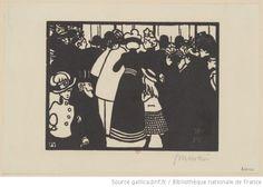 Félix Vallotton - La Vitrine de Lalique à l'Exposition Universelle