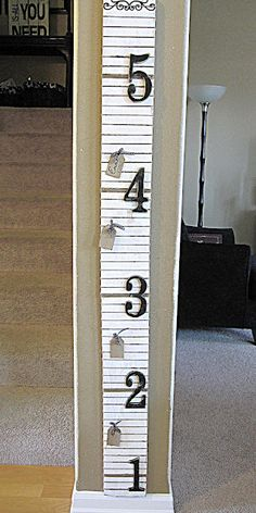 Great for measuring kids height in a classic way and able to move with to a new house!