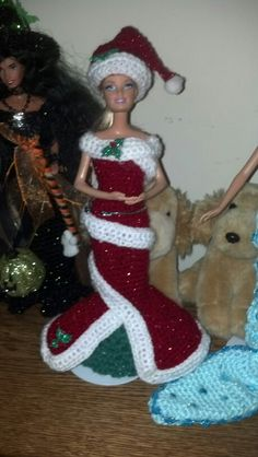 Christmas barbie by marianne
