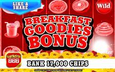 ☆☆☆ Breakfast Goodies Bonus ☆☆☆ Free Chips! > https://apps.facebook.com/slotbuster?utm_source=fanpage&utm_medium=BreakfastGoodiesBonus&utm_campaign=7032016&bonusPackId=17277 < The Slots Are Hot #slotgames