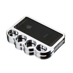 Knucklecase iPhone 5 Silver Tone, $82, now featured on Fab.