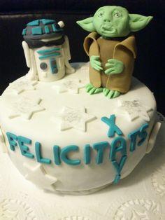 Pastel Star Wars para Xevi.