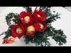 DIY Chocolates Bouquet   Valentine's Day Gift Idea   How to make   JK Arts 836 143 - YouTube