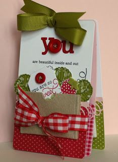 """What a wonderful """"thinking of you"""" card - or maybe a thank you?"""